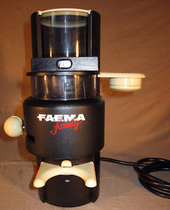 FAEMA - Conical Burr Coffee Grinder (Barista quality)