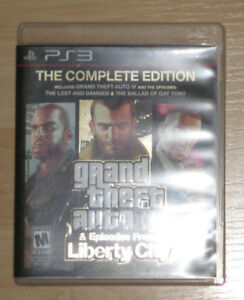 GRAND THEFT AUTO IV 4 COMPLETE EDITION  (incl. Liberty City DLC)