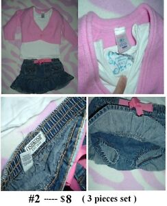 2T Girl's ---- Outfit lot