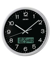 Seiko Wall Clock with Quiet Sweep Second Hand QXL007A-NEW