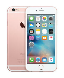 Rose gold iPhone 6s 32gigs