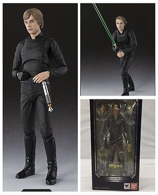S H Figuarts Star Wars Luke Skywalker Jedi Knight Action Figure 15Cm Toy Xmas
