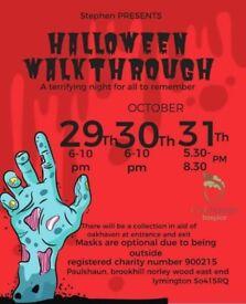 Halloween spooky walkthrough 29th, 30th, 31st October