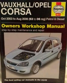 Haynes Vauxhall Corsa Manual