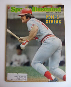 Sports Illustrated Magazine, August 7, 1978 - Pete Rose Cover