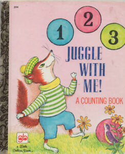 Juggle With Me 1976 Little Golden Book - 5th Printing Edition
