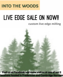 HIGH END LIVE EDGE, ON SALE