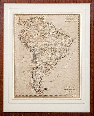 Южная Америка Antique Map Colonial South
