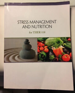 Stress Management & Nutrition Textbook for THER 118