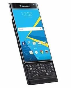 Gordie's Blackberry Priv Unlocked Mint with box&OEM Leather Holster