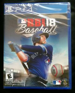 MLB RBI18 for PS4 BRAND NEW SEALED