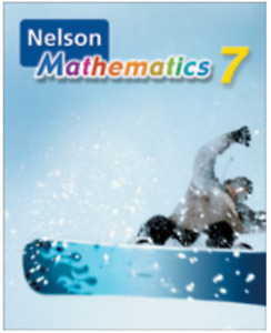 Nelson Mathematics 7 TEXTBOOK