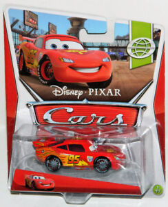 Disney Pixar Cars 2 1/55 Lightning McQueen With Racing Wheels