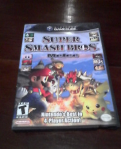 super smash bros melee game for gamecube