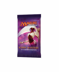 ICONIC MASTERS BOOSTER PACK  $ 14.99