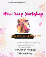 Mini Soap Workshop In Support Of Mental Illness.