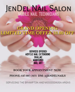 Mobile Nails | Find or Advertise Services in Mississauga / Peel ...