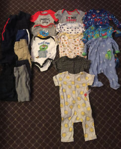 Boys 3 months and 3-6 months Spring/Summer Lot
