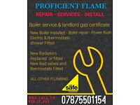 GAS, PLUMBER, BOILER SERVICE, REPAIR AND INSTALL, COOKER/HOB, SHOWER INSTALL, EMERGENCY, LEAK