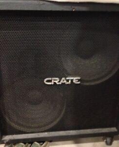 "Cabinet de guitare/bass  2x15"" Crate BV215S"