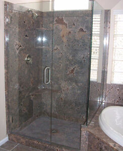 Shower Walls ,Shower Bases , Vanity Tops and More Stratford Kitchener Area image 2