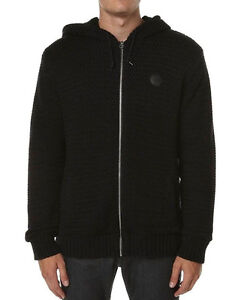 Men's BILLABONG Trigger Sherpa Lined Zip Hooded Jacket, Size S