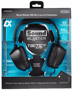Sound Blaster Tactic3D Alpha Gaming Headset with THX® TruStudio