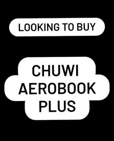 WTB Chuwi AeroBook Plus