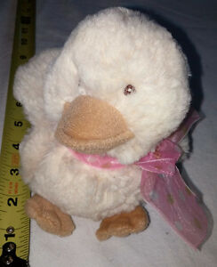 Super Soft Plush Stuffy Diddy Duck with Bow by Russ London Ontario image 1