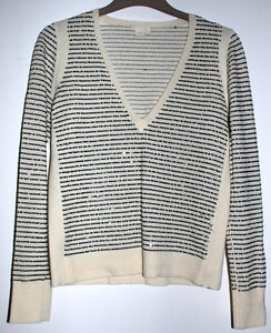 J. Crew Sequenced Striped 100% Wool Sweater Cambridge Kitchener Area image 1
