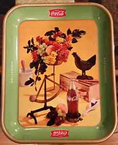 1957 Coca Cola Rooster Collectable Tray