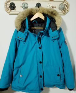 Women's size 2x Down filled bomber style parka