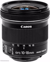 WTB: Canon EF-S 10-18mm f/4.5-5.6 IS STM Lens