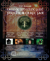Tree of Life Celtic Yule Psychic and Craft Fair Fundraiser