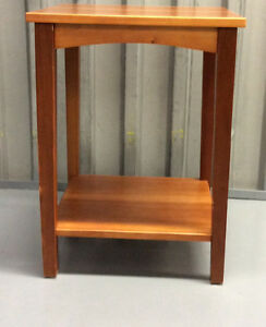 4 Cherry Wood Furniture Living Room Shelf Tables Scandinavian