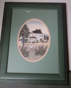 Catherine Karnes Munn Framed Print - 13 3/4 by 10 5/8 inches