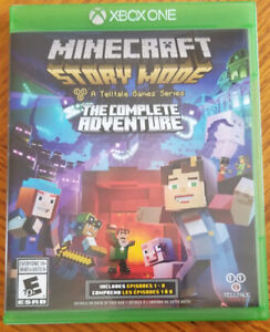 Minecraft Story mode The Complete adventure sur Xbox One
