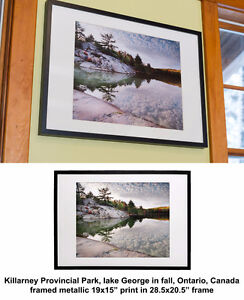Framed Ontario nature artistic photo prints