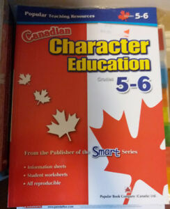 Brand New Canadian Character Education Grades 5-6