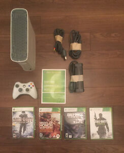 XBOX 360 et 4 jeux pour 65$ (Call Duty 1,2,3 & Medal of Honor)