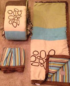 Cocalo Couture Bali Nursery Baby Crib Bedding Set Neutral
