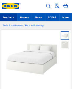 Ikea white furniture bedroom set