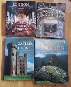 Ancient England, Castles, Interiors, Lost Cities Books