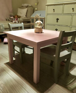 Pottery Barn Kids table & 2 chairs set