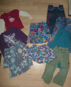 9-piece girls' fall, winter clothing, size 5T, $ 10 for all