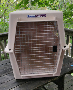 Extra-large Pet Poter dog crate (used)