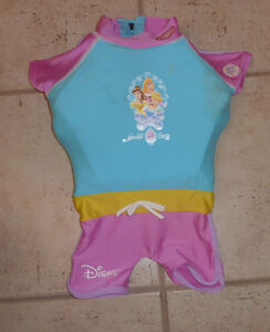 Disney Princesses swimming aid, size 2T, SPF 50+ Kitchener / Waterloo Kitchener Area image 1