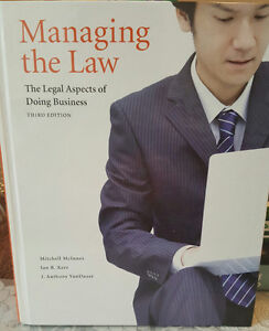 Managing the Law: 3rd Edition