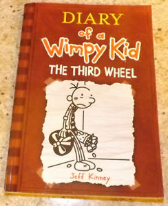 Diary of a Wimpy Kid book 7 - THE THIRD WHEEL