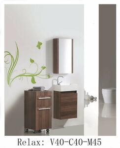 Vanités Chêne/Noyer de salle de bain NEUFS/bath vanities